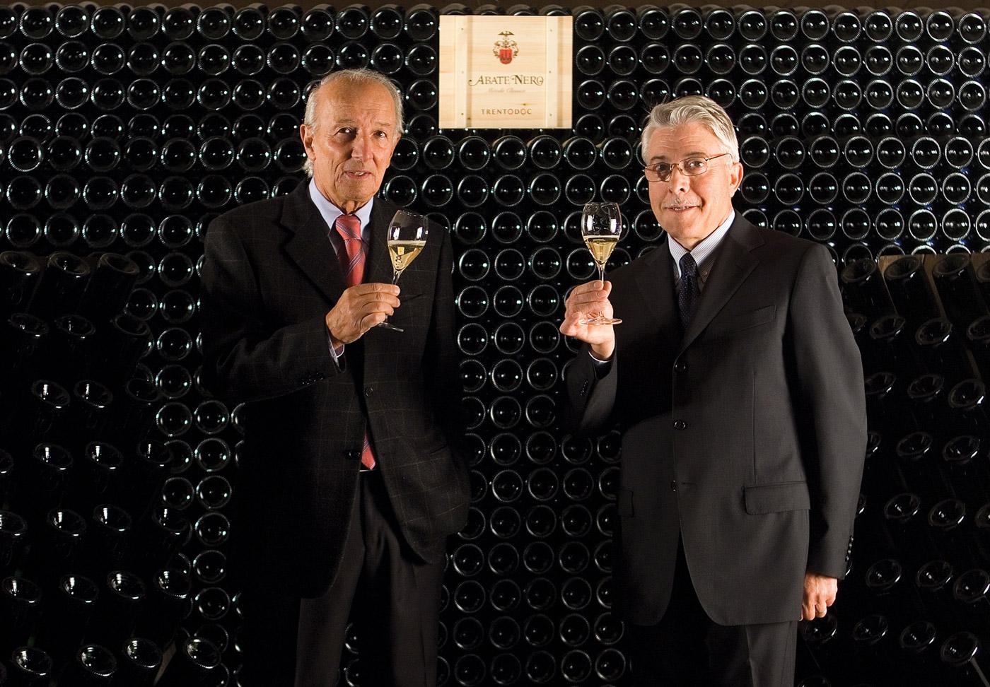 Eugenio de Castel Terlago e Luciano Lunelli