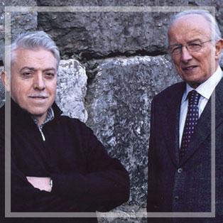Abate nero Eugenio de Castel Terlago e Luciano Lunelli